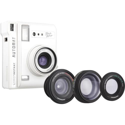 Lomography Lomo'Instant Automat Instant Film Camera and Lenses (Bora Bora)