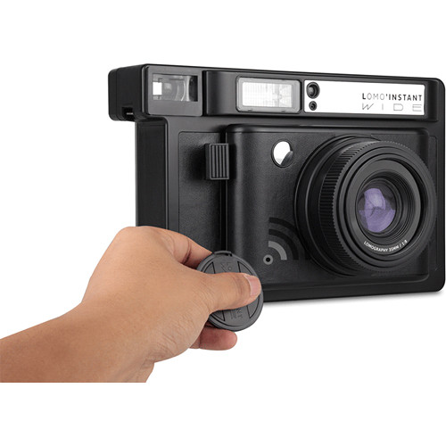 Lomography Lomo'Instant Wide Black Camera and Lenses