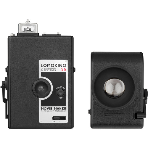 Lomography LomoKino 35mm Movie Camera with LomoKinoScope and Smartphone Film Scanner