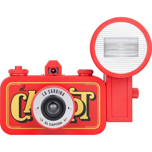 Lomography La Sardina El Capitan Camera with Flash