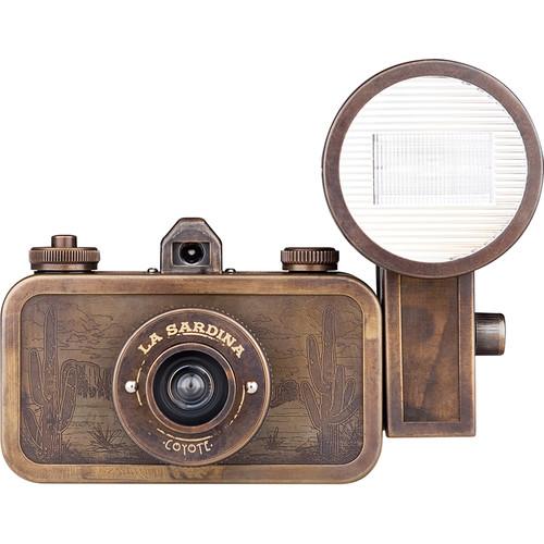 Lomography La Sardina Coyote Camera with Flash