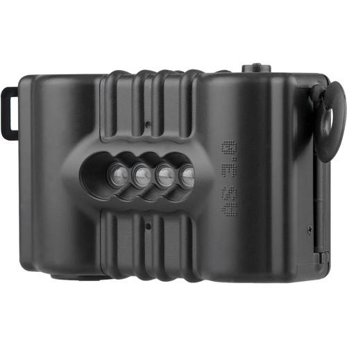 Lomography SuperSampler Fixed Focus 4-Lens Panorama Camera (Black Panther)