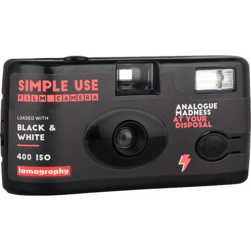 Lomography Black & White 400 Simple Use Film Camera