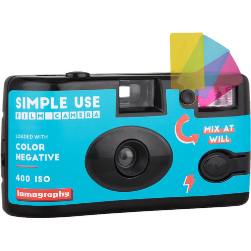 Lomography Color Negative 400 Simple Use Film Camera