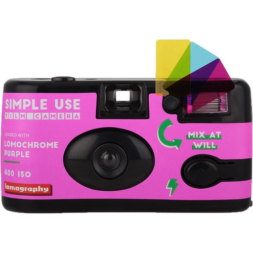 Lomography LomoChrome Purple 2019 Simple Use Film Camera
