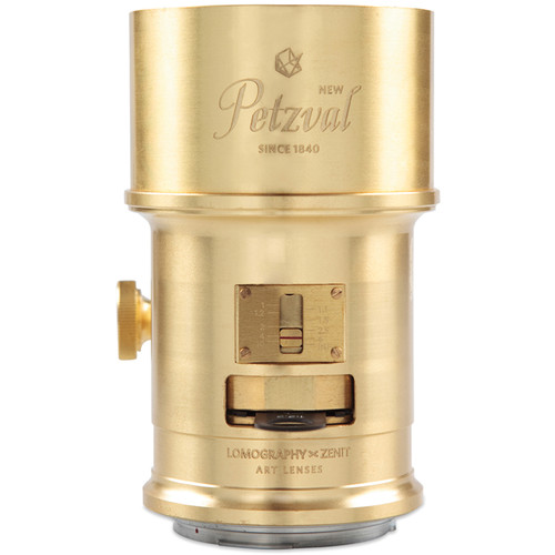 Lomography Petzval 85mm f/2.2 Lens for Nikon F (Brass)