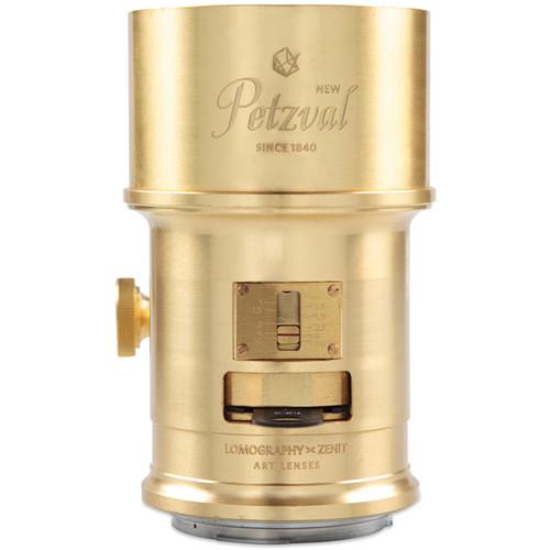 Lomography Petzval 85mm f/2.2 Lens for Nikon F Mount (Brass)