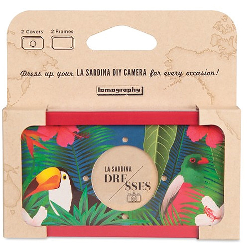 Lomography La Sardina Dress Birds of Paradise Camera Covering