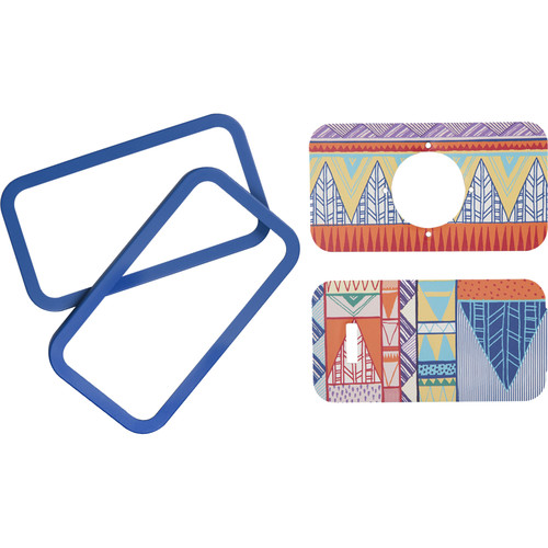 Lomography La Sardina Dress Kit with Covers and Frames for DIY Camera (Triangle Tryst)