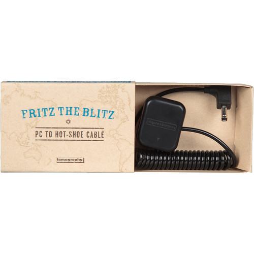 Lomography Fritz the Blitz to Hot Shoe Flash Cable