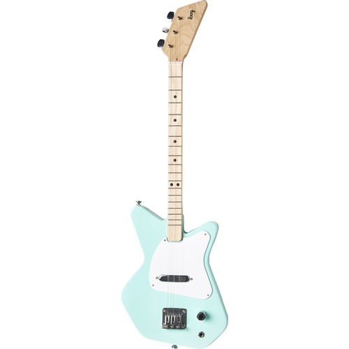 LOOG Pro Electric Guitar for Children (Green)