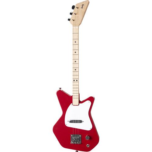 loog pro electric guitar for children red lgprer b h photo. Black Bedroom Furniture Sets. Home Design Ideas