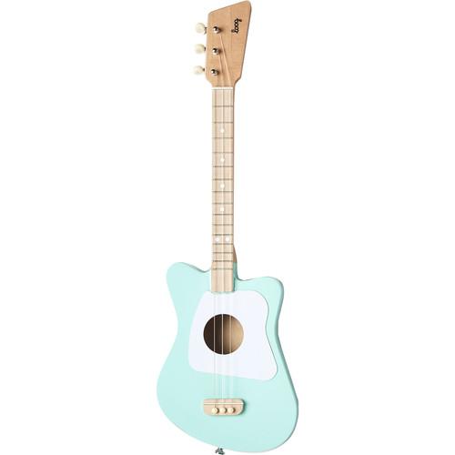 LOOG Mini Guitar for Children (Green)