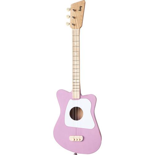 LOOG Mini Guitar for Children (Magenta)