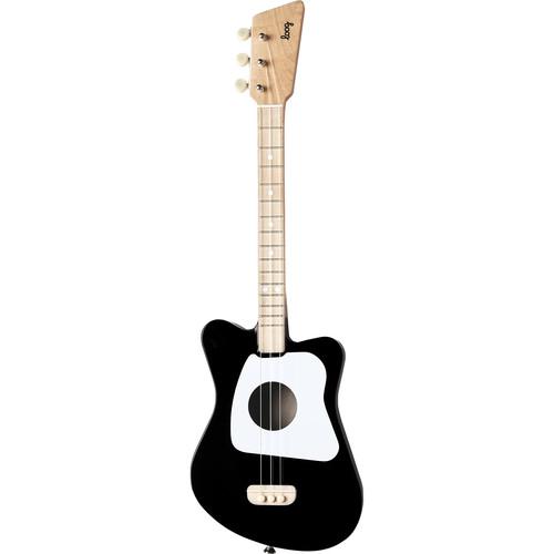 LOOG Mini Guitar for Children (Black)
