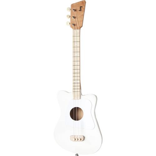LOOG Mini Guitar for Children (White)