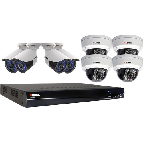 Lorex by FLIR 8-Channel 2TB NVR Kit wth Eight Day/Night Outdoor IP Cameras
