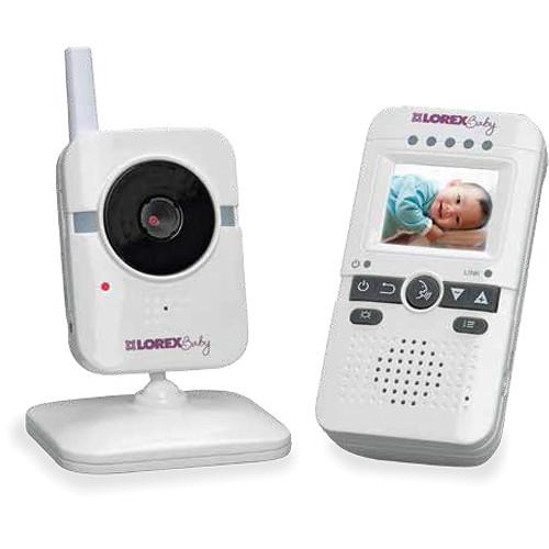 Lorex by FLIR Sweet Peep mini Wireless Video Baby Monitor
