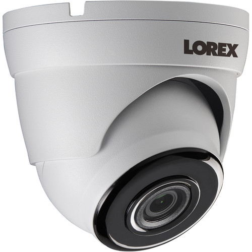 Lorex LKE343B 4MP Outdoor Network Dome Camera with Night Vision