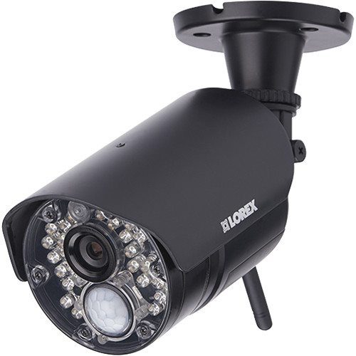 Lorex by FLIR 720p Day/Night IR Wireless Add-On Bullet Camera with 3.6mm Fixed Lens