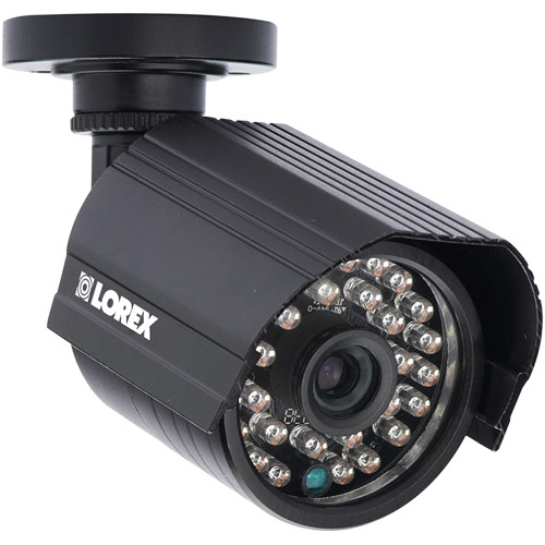 Lorex by FLIR Weatherproof Night-Vision Outdoor Bullet Camera with 4.6mm Fixed Lens
