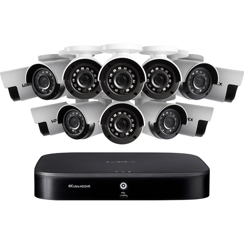 Lorex 16-Channel 1080p Analog HD DVR with 2TB HDD & 12 1080p Night Vision Bullet Cameras