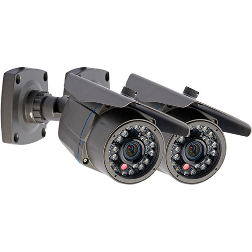 Lorex by FLIR Full HD Series LBCHD2051PK2B 1080p High-Definition Indoor / Outdoor Bullet Security Camera Kit