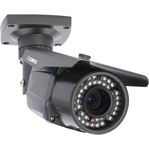 Lorex by FLIR 1080p Motorized Zoom IR Indoor/Outdoor Bullet Camera with 2.8 to 12mm Varifocal Lens