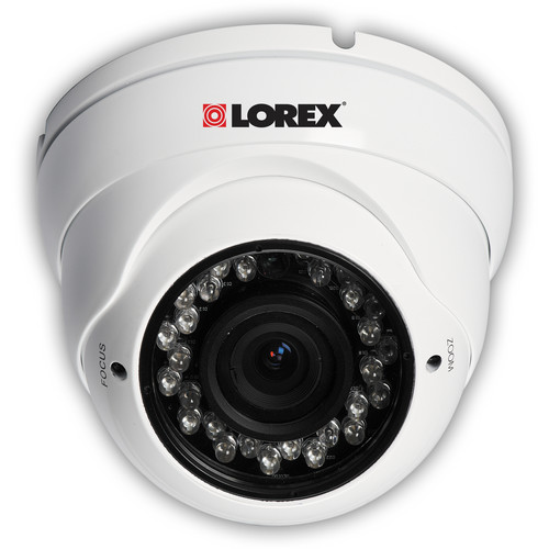 Lorex by FLIR LDC7082 960H Weatherproof Night-Vision Security Dome Camera (NTSC)