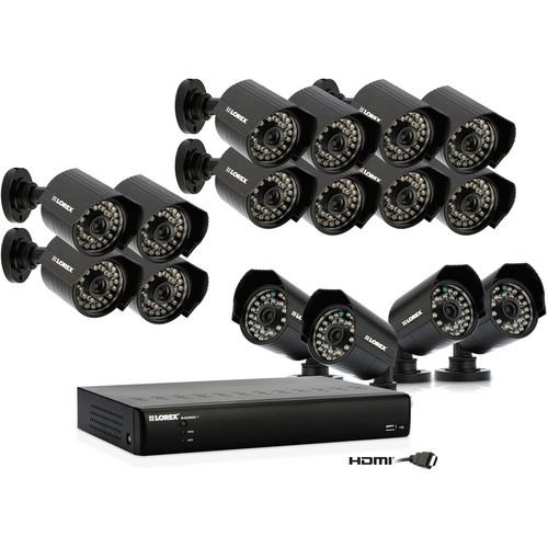 Lorex by FLIR LH0161001C16F ECO Blackbox 16-Channel DVR Security System (1TB)