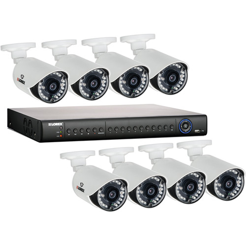 Lorex by FLIR LH1462001 16-Channel 2TB HDD DVR with 8 Outdoor Night Vision Cameras