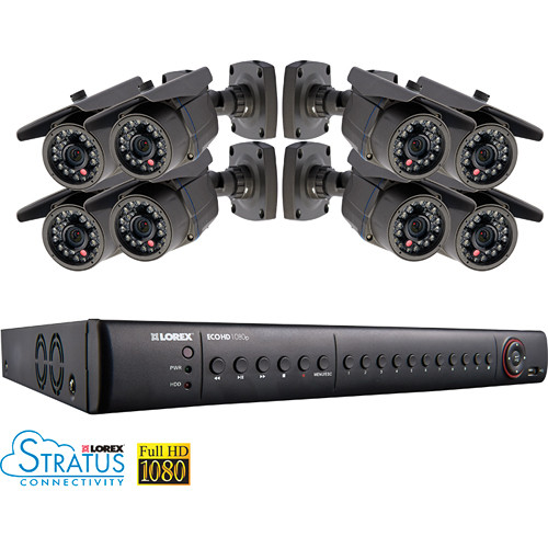 Lorex by FLIR LHD2082001C8B 8-Channel Surveillance System