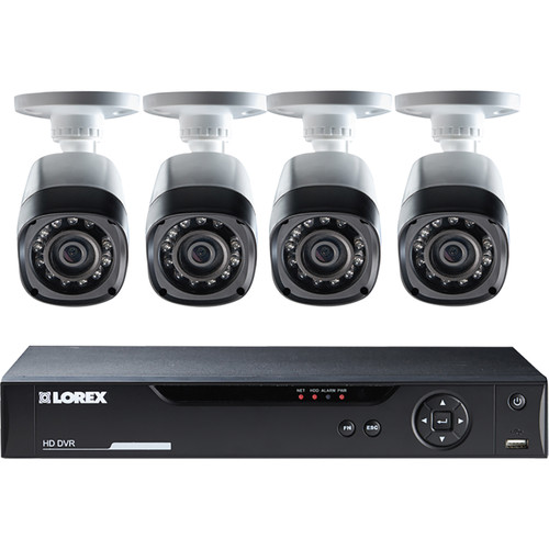 Lorex by FLIR LHV10082TC4 Stratus Cloud 8-Channel DVR with 2TB HDD and Four Cameras