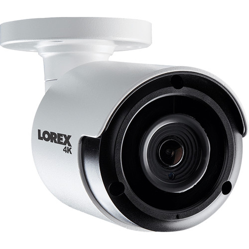 Lorex LKB383A 4K UHD Outdoor Network Bullet Camera with Color Night Vision