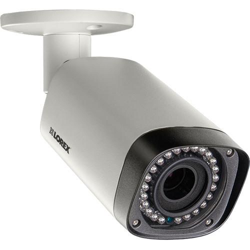 Lorex by FLIR 1080p Motorized Zoom IR Indoor/Outdoor Bullet Camera with 2.7 to 12mm Varifocal Lens (Retail Packaging)