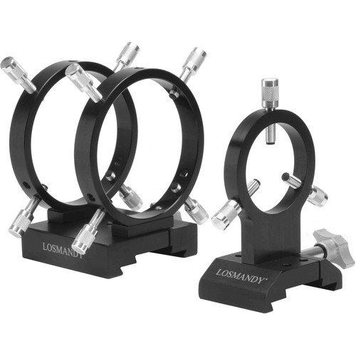 Losmandy DVR108/66 Three Ring AutoGuider Scope Set