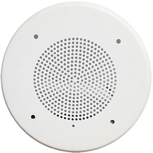 "Louroe TLM-CS 4"" Surface-Mounted Ceiling Speaker / Microphone"