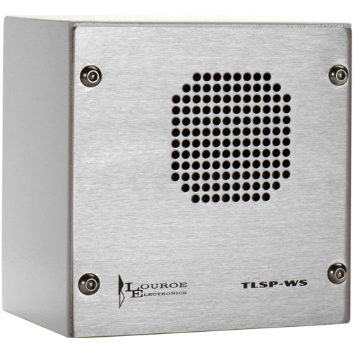 Louroe TLSP-S Vandal-Resistant 2-Way Speaker with Microphone