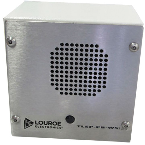 Louroe TLSP-PB-12VS Remote Call Station (Surface Mount)