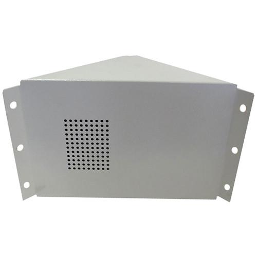 Louroe TLSP Corner Mount Speaker & Microphone (White)