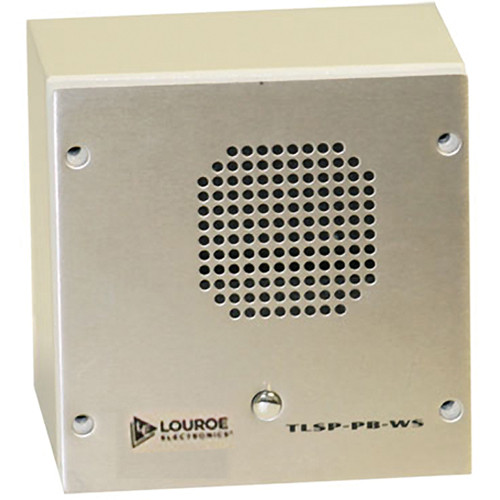 Louroe TLSP-PB-WS Remote Call Station (Surface Mount)