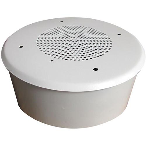 "Louroe TLM-CF 4"" Flush-Mounted Ceiling Speaker / Microphone"