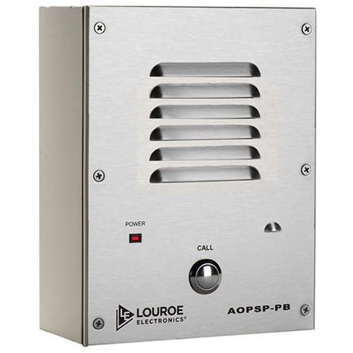 Louroe AOPSP-PB Bi-Directional Speakerphone