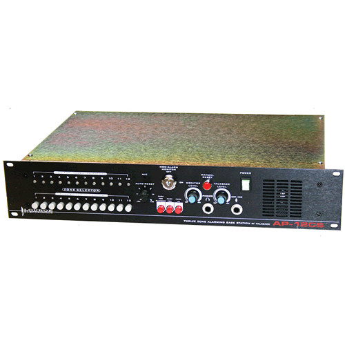 Louroe AP-12CS 12-Zone Alarming Audio Base Station