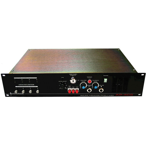 Louroe AP-4CS 4-Zone Alarming Audio Base Station