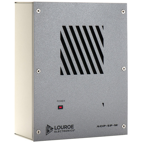 Louroe AOP-SP-W Bi-Directional Speakerphone