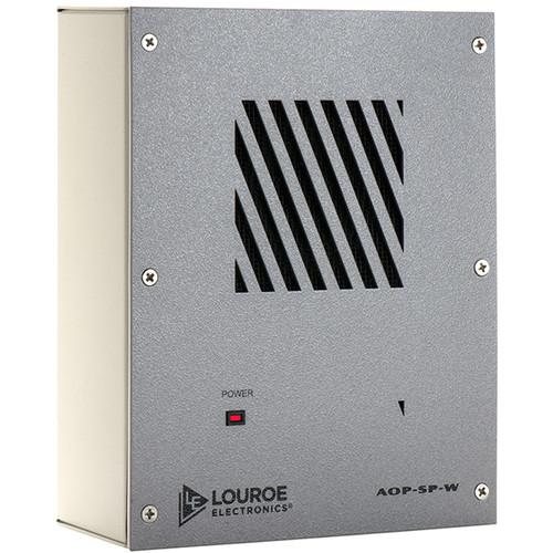 Louroe AOP-SP-W Bi-Directional Speakerphone