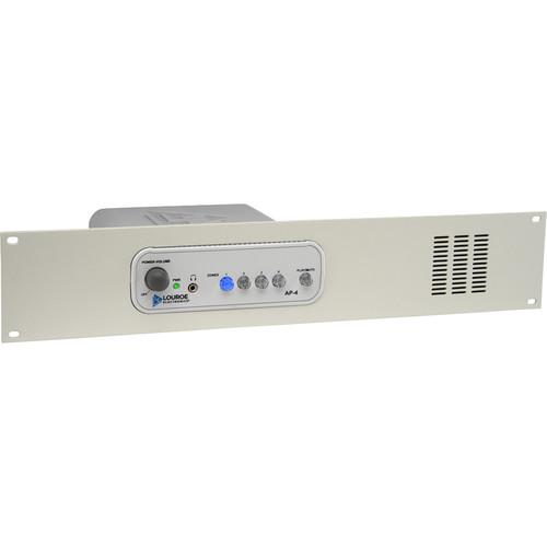 Louroe AP-4 4-Zone Audio Monitoring Base Station with Rack Mount
