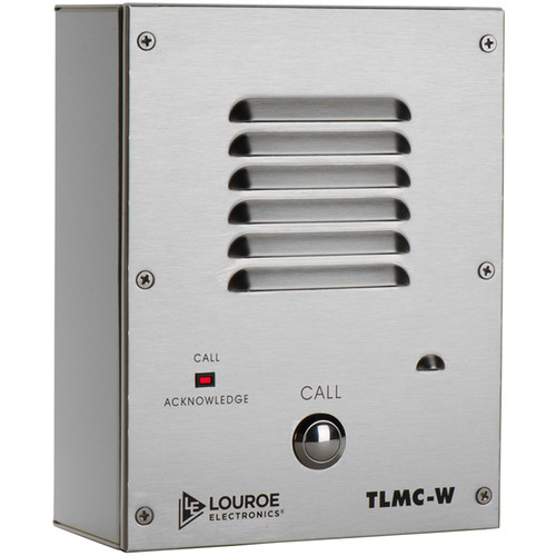 Louroe TLMC-W 2-Way Call Station