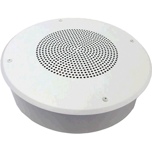 "Louroe Ceiling Surface-Mount 8"" Speaker and Microphone"